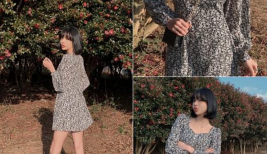 【2020年最新】春服に悩むあなたにおすすめ!韓国人気ミニワンピース6選!